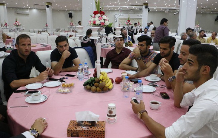 گزارش تصویری جشن باشگاه پرسپولیس