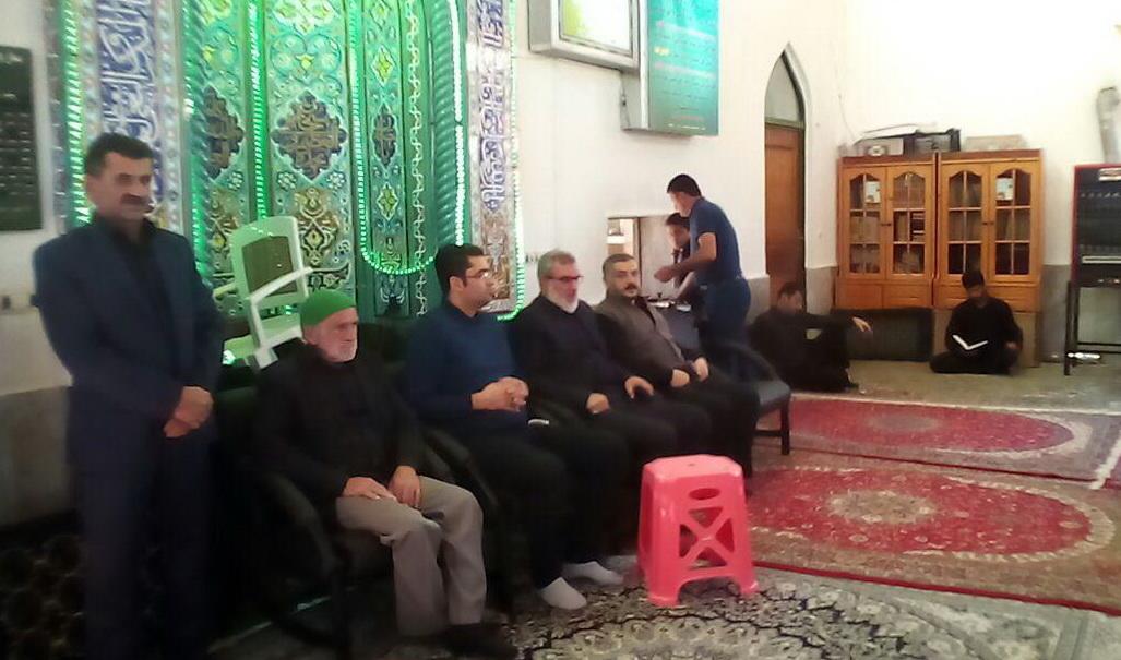 مراسم سالگرد درگذشت هوادار فقید پرسپولیس برگزار شد