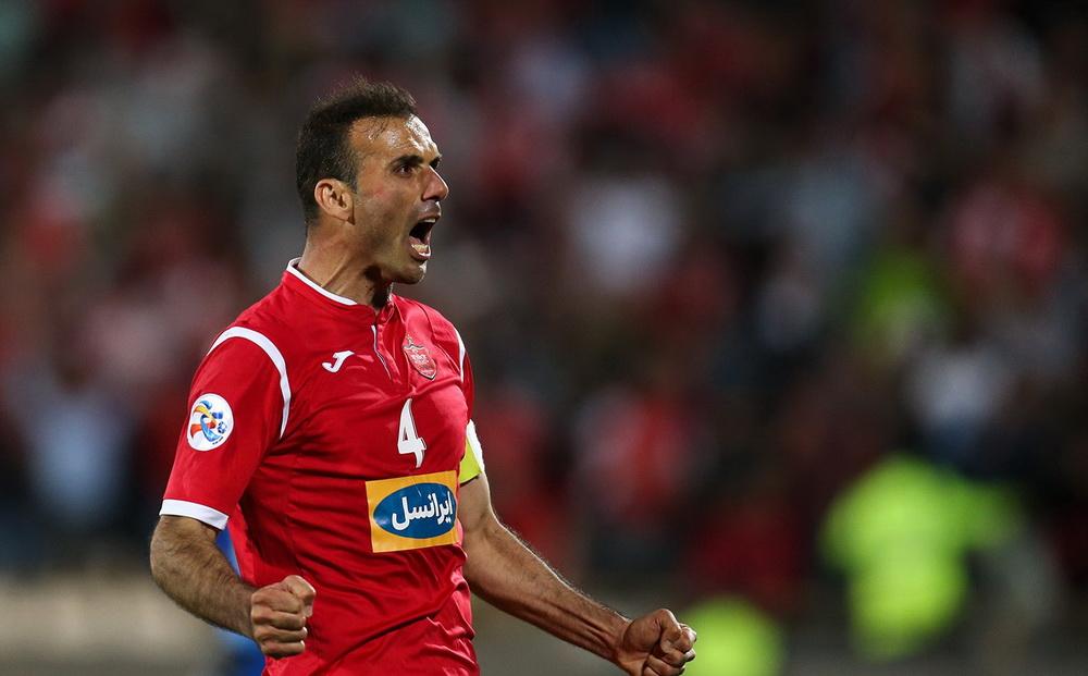 واکنش کاپیتان پرسپولیس به گلی که باعث خط خوردنش از تیم ملی شد