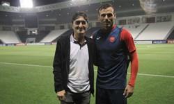 ناصر محمدخانی: از دیدن بازی وحید امیری لذت بردم/پرسپولیس در لیگ بیستم هم مدعی اصلی قهرمانی است