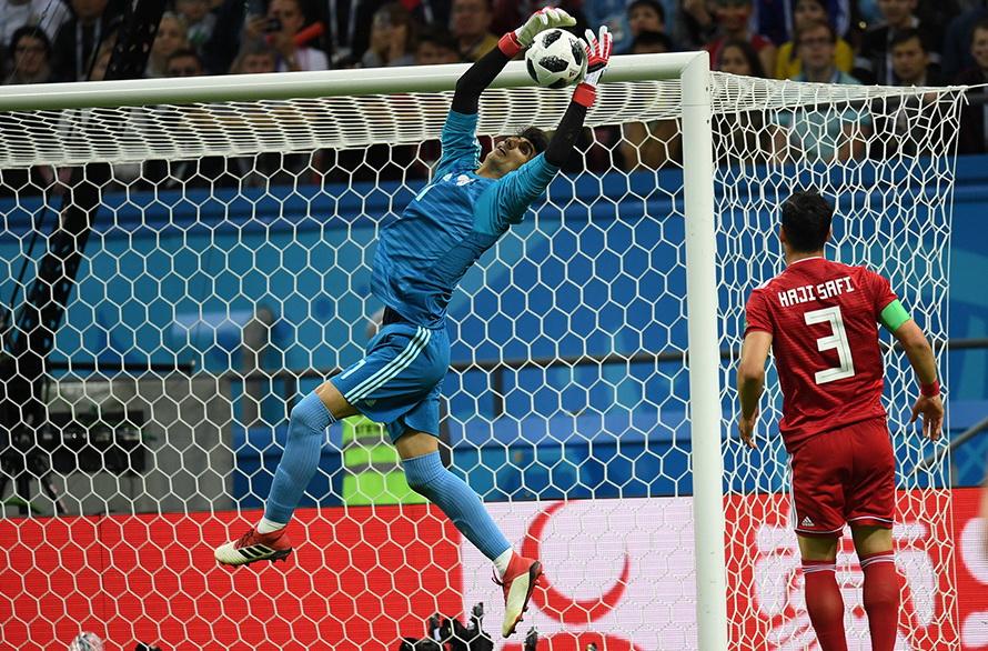 بیرانوند در رده ششم بهترین دروازهبان جام جهانی/ رامین رضاییان هفتم است