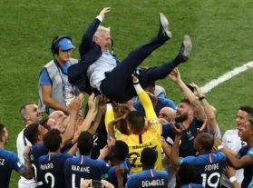 فرانسه ۴-۲ کرواسی / دومین قهرمانی فرانسه در تاریخ جام جهانی