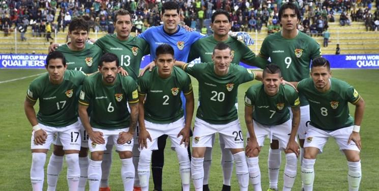 ترکیب تیم بولیوی مقابل ایران اعلام شد