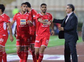 گزارش تصویری: مسابقه جام حذفی پرسپولیس ۱-۰ نود ارومیه