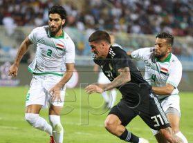 شکست سنگین عراق مقابل آرژانتین در ریاض/بازی 70 دقیقهای بازیکن پرسپولیس در شب تلخش
