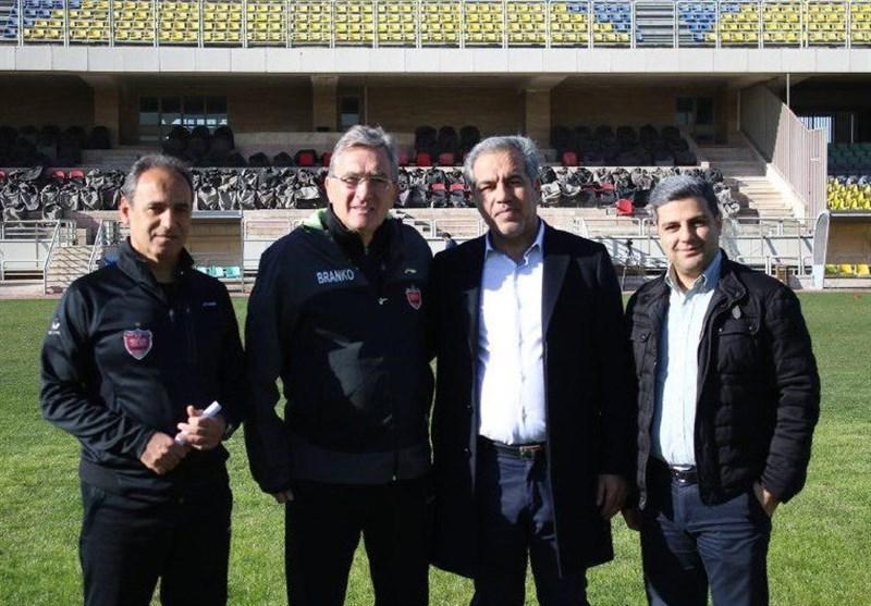 جلسه برانکو و عرب برای جذب بازیکن