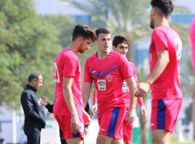 گزارش تصویری: تمرین جمعه ۲۱ دی پرسپولیس با حضور بودیمیر