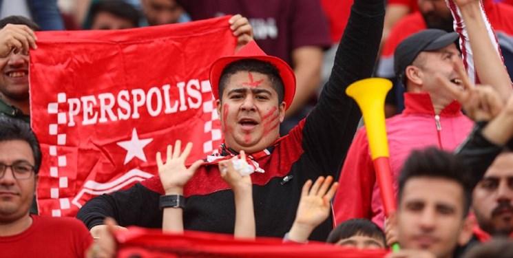 پرسپولیس ۱۰ درصد از ظرفیت ورزشگاه تبریز را میخواهد