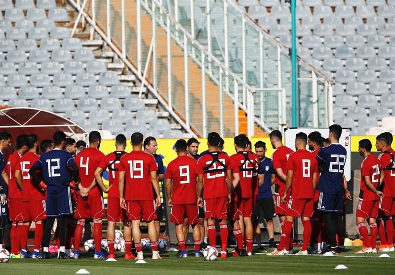 ترکیب تیم ملى بزرگسالان در دیدار با تیم امید مشخص شد