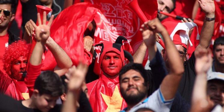 دستگیری یک هوادار / پلیس تجمع هواداران پرسپولیس را پراکنده کرد!+عکس