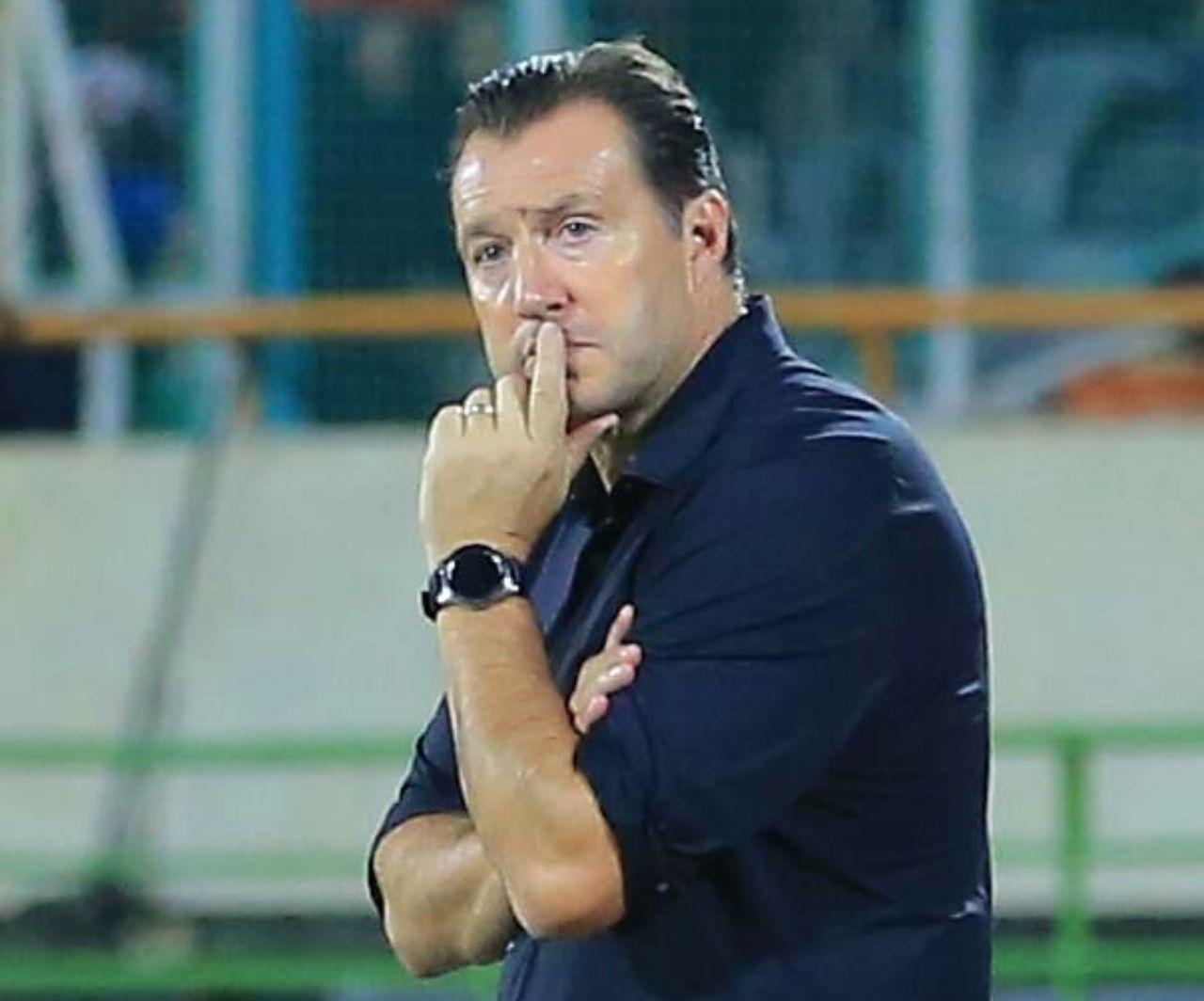 ویلموتس: گفتم که هجومی بازی خواهیم کرد/ هدف ما جام جهانی است/ از خانمها برای حضورشان ممنونم