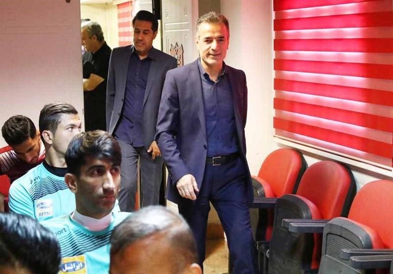 تماس مدیرعامل باشگاه پرسپولیس با سیدجلال حسینی