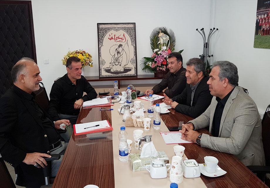 جلسه سه ساعته هیات مدیره پرسپولیس با محوریت نقل و انتقالات برگزار شد