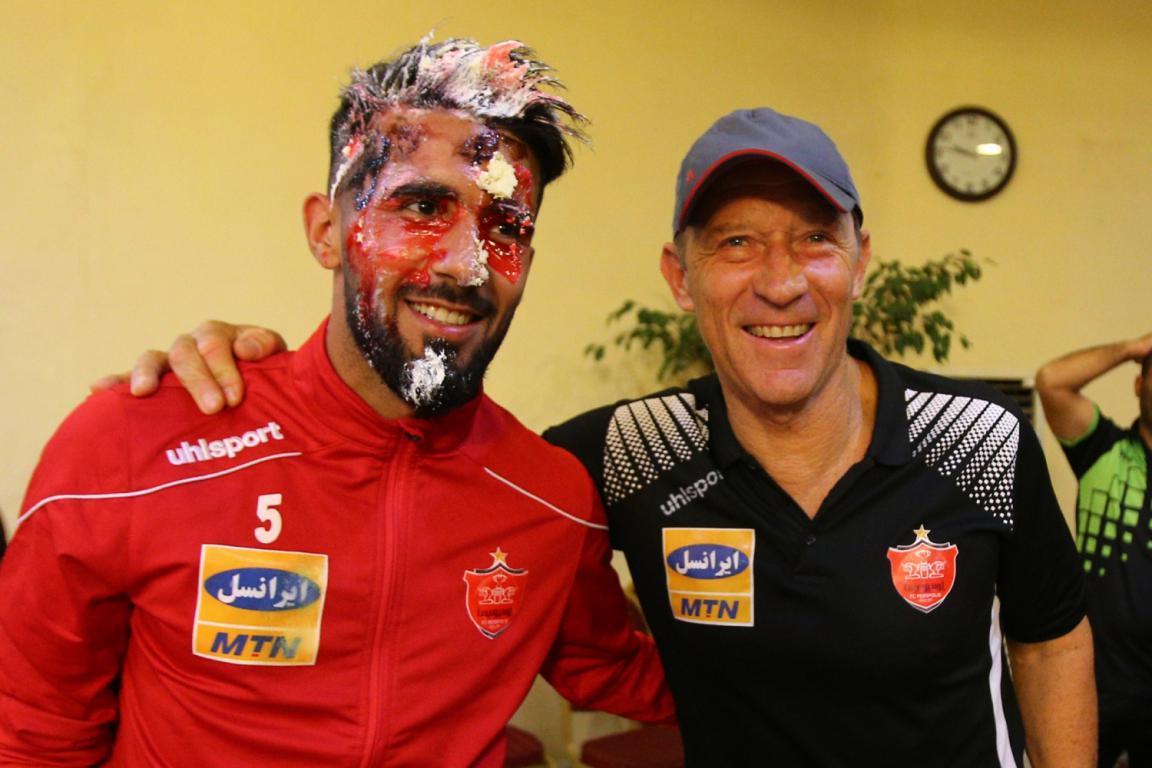 بشار رسن ۲۳ ساله شد + تصاویر جشن