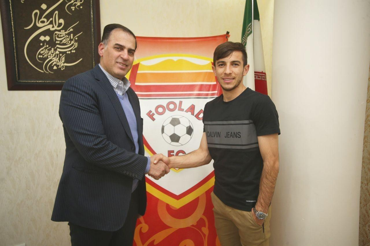 فرشاد احمدزاده به فولاد خوزستان پیوست