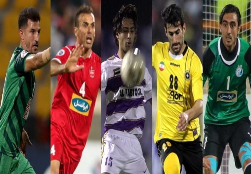 جلال حسینی در جمع برترین بازیکنان تاریخ ایران در لیگ قهرمانان آسیا از نگاه AFC+ نظرسنجی