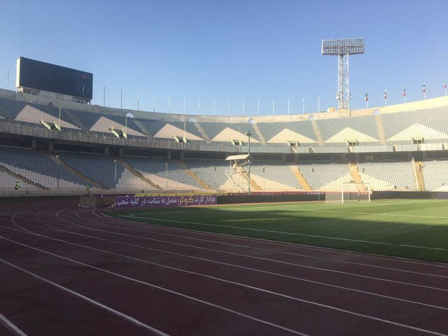 آماده باش اماکن ورزشی تهران و مازندران/ زلزله دربهای ورزشگاههای آزادی،شیرودی،انقلاب و تختی را باز کرد