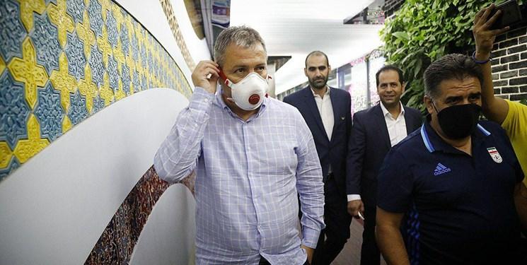اسکوچیچ به ایران بازگشت +  عکس