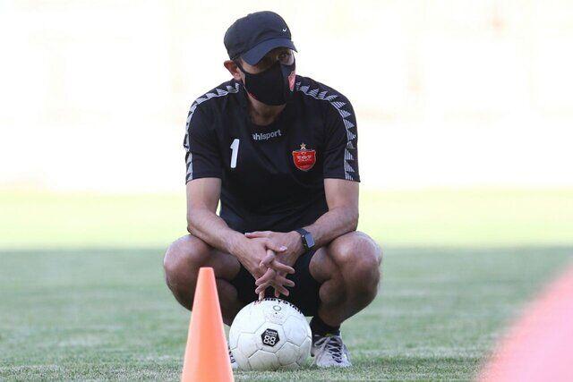 گل محمدی به باشگاه پرسپولیس رفت / خروج بدون نتیجه سرمربی از باشگاه