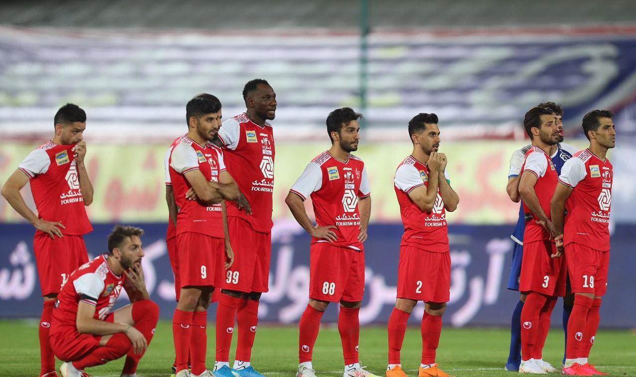 گزارش تصویری: بازی جام حذفی پرسپولیس ۲-۲ استقلال