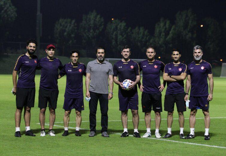 تمرین پنجشنبه ۲۷ شهریور پرسپولیس در قطر