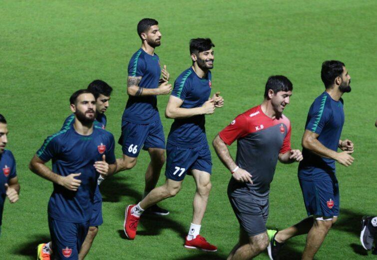 تمرین جمعه ۴ مهر پرسپولیس در قطر