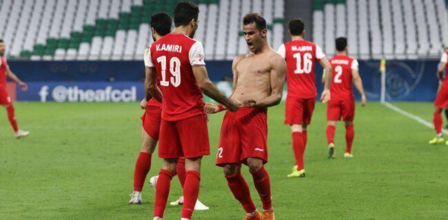 ویدئو: خلاصه بازی یک هشتم نهایی لیگ قهرمانان؛ پرسپولیس ۱-۰ السد