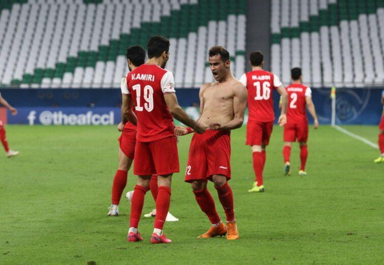 یک هشتم نهایی لیگ قهرمانان آسیا، پرسپولیس ۱-۰ السد