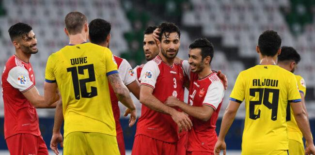 گزارش تصویری: بازی رفت پرسپولیس ۱-۰ التعاون