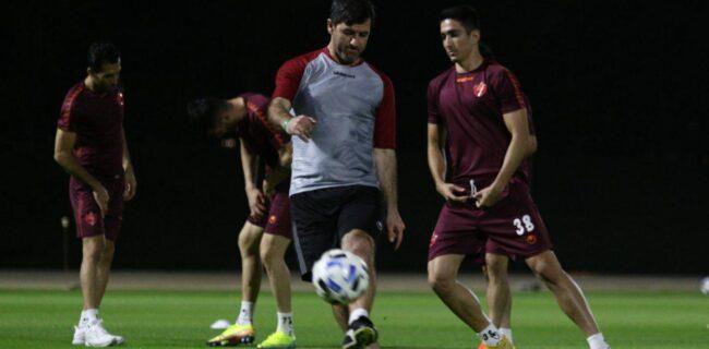 گزارش تصویری: تمرین شنبه ۲۹ شهریور پرسپولیس در قطر