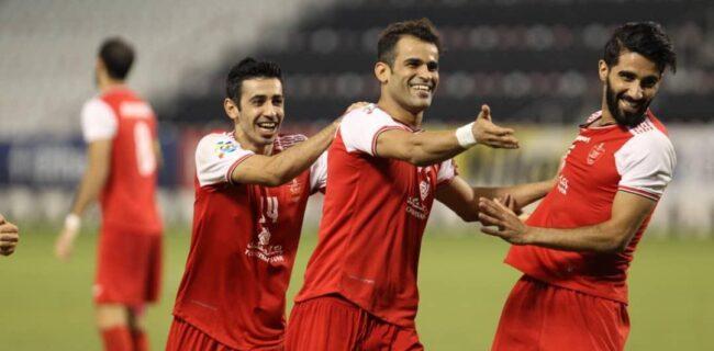 گزارش تصویری: بازی یک چهارم نهایی لیگ قهرمانان؛ پرسپولیس ۲-۰ پاختاکور
