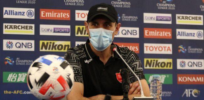 گلمحمدی: بازیکنانم خسته بودند / الدحیل بدون ایجاد موقعیت پیروز شد
