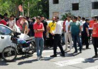 ادامه اعتراض هواداران پرسپولیس / تجمع کنندگان به ورزشگاه کاظمی رفتند