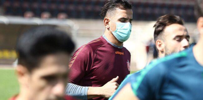 گزارش تصویری: اولین تمرین فصل جدید پرسپولیس دوشنبه ۲۱ مهر
