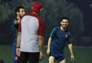 آخرین تمرین پرسپولیس در قطر پیش بازی با النصر