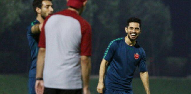 گزارش تصویری: آخرین تمرین پرسپولیس در قطر پیش بازی با النصر