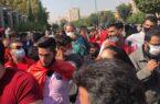 گزارش تصویری و ویدیویی: تجمع امروز هواداران پرسپولیس مقابل مجلس