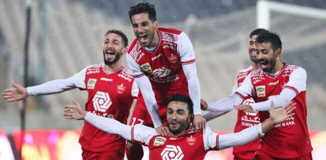 گزارش تصویری: بازی رفت لیگ بیستم پرسپولیس ۱-۰ نفت آبادان