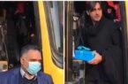 هدیه عضو هیات مدیره استقلال به رحمتی در اتوبوس شهر خودرو!