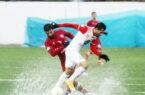 گزارش تصویری: بازی رفت نساجی ۱-۱ پرسپولیس