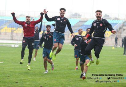 گزارش تصویری: تمرین پنجشنبه ۱۲ آذر پرسپولیس