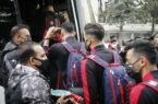 گزارش تصویری: بدرقه کاروان پرسپولیس به سمت فرودگاه