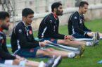 گزارش تمرین پرسپولیس / بازگشت محمد انصاری به تمرینات گروهی