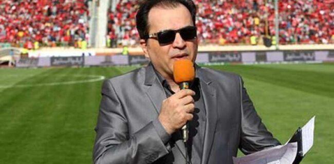 حمله هواداران فولاد به مجری تلویزیون/ واکنش بیفایده آقای گزارشگر
