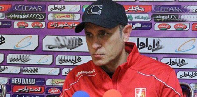 گلمحمدی به نشست خبری دیدار با تراکتور نمیرسد