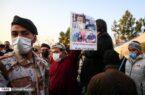 گزارش تصویری: تشییع و خاکسپاری پیکر مرحوم علی انصاریان