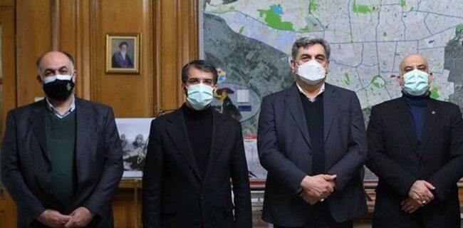 قول واگذاری ورزشگاه کاظمی در نشست مدیرعامل پرسپولیس با شهردار تهران