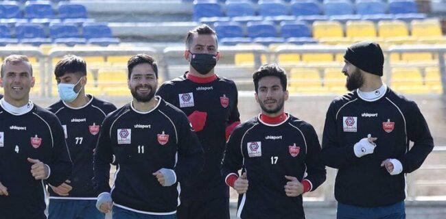 گزارش تمرین پرسپولیس  کری خوانی سرخپوشان/ صحبت های گل محمدی برای بازیکنان