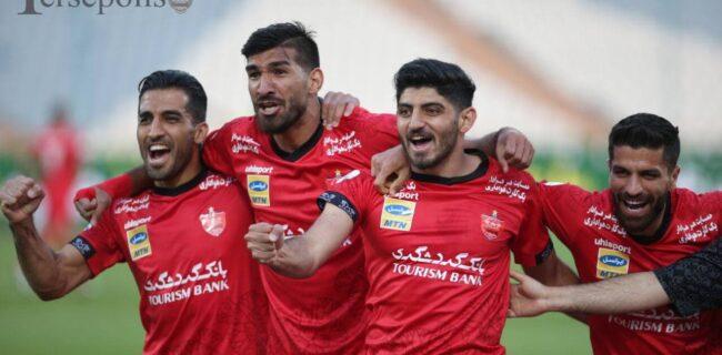 پرسپولیس ۲-۰ نساجی / پرواز به آسیا با پیروزی در لیگ