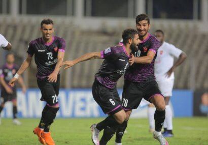 خلاصه مسابقه پرسپولیس ۴-۲ الریان